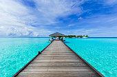 Boardwalk to a beach paradise