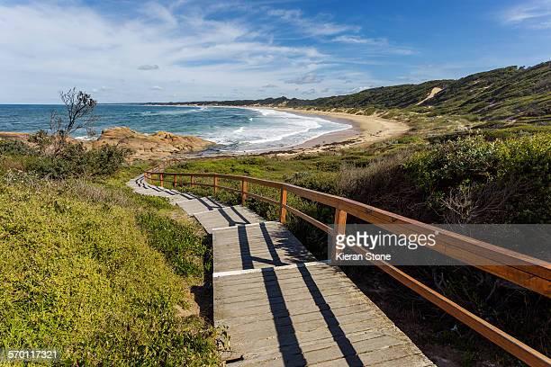 Boardwalk to Salomon Rocks