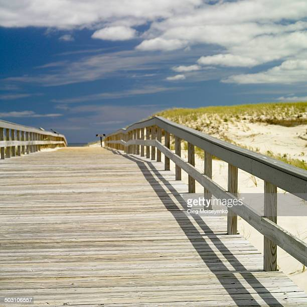 Boardwalk to the ocean