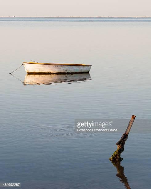 Boat at Delta del Ebro