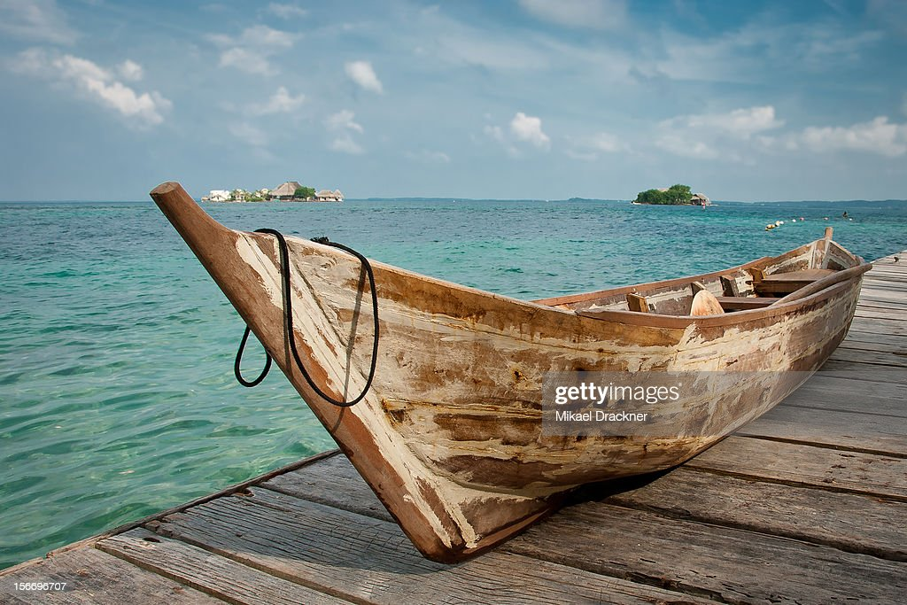 Boat, Colombia : Stock Photo