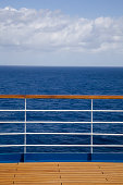 Boat deck and railing