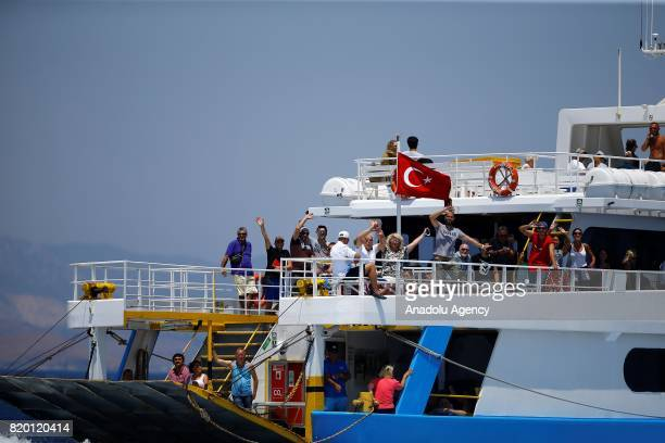 A boat departed from Kos Island of Greece and carrying approximately 205 Turkish citizens those affected a 66magnitude richter scale earthquake is...
