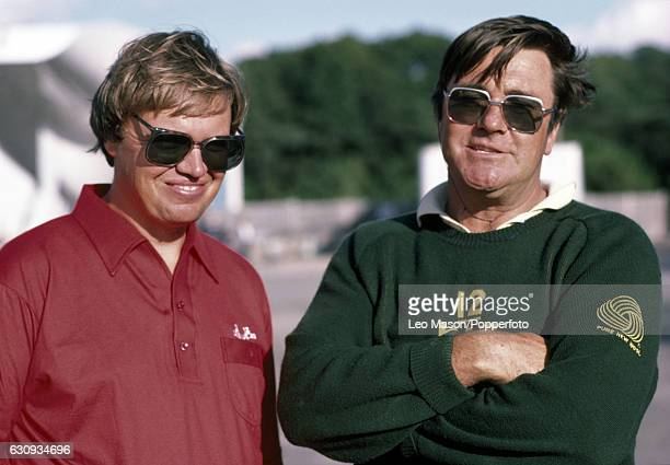 Boat designers Ben Lexcen and Johan Valentijn at Newport Rhode Island before the America's Cup series 13th September 1983 In September 1983 the 12...