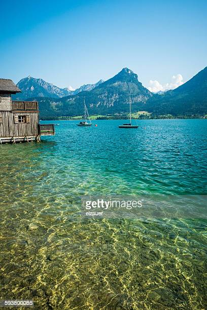 Boat House in Wolfgangsee