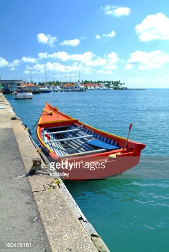 Boat in Harbor : Stock Photo
