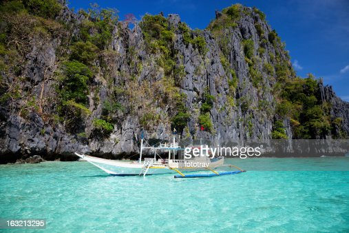 Boat in Paradise, El Nido, Philippines