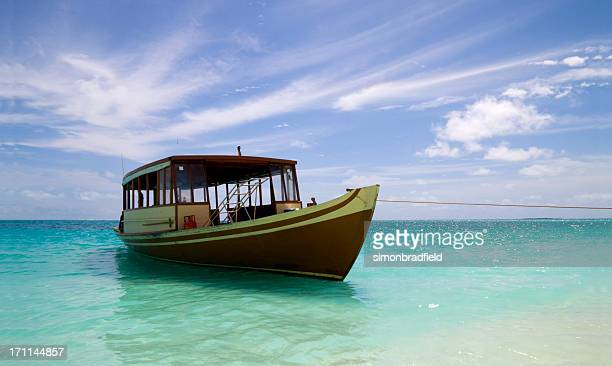 Boat In The Maldives