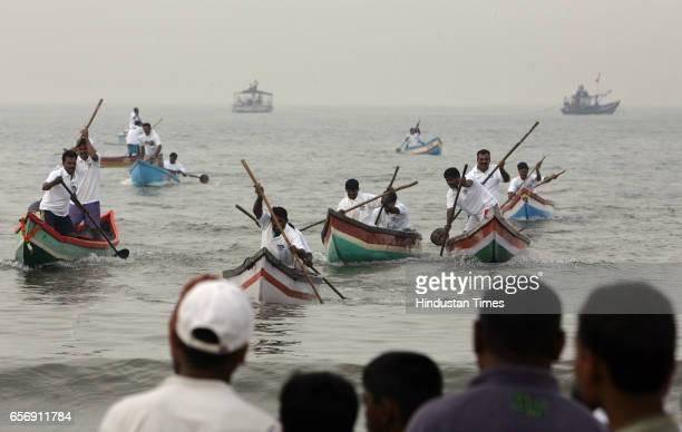 Boat Race Kolis Koli Community 84 teams from the Koliwada community participated in the boat race in Juhu on Sunday the event was a part of the last...