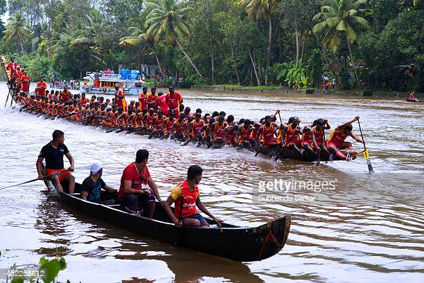 PAIPAD KOTTAYAM KERALA INDIA Boat races in Kerala are held annually during the Onam festival amidst much fun and frolic in the celebrated backwaters...