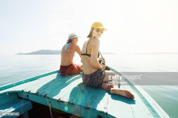 Tours en bateau, sable lignes et de bons moments