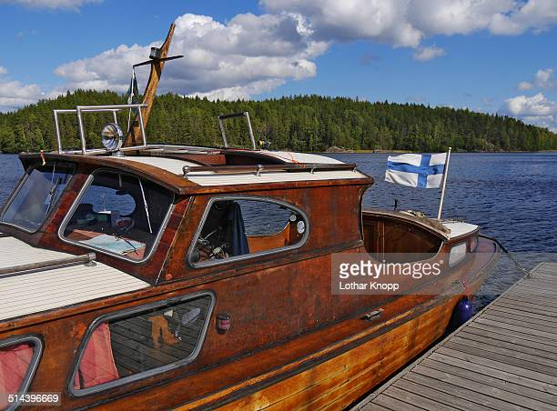 Boat trip on Finnish Lakeland