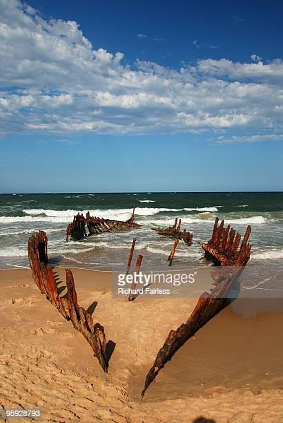 Boat Wreck, Dickie Bay