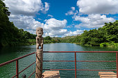 Boatage at Chavon River - Dominican Republic - Caribbean