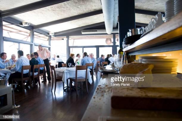 Boathouse restaurant, Blackwattle Bay.