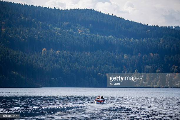 Boating on Titisee