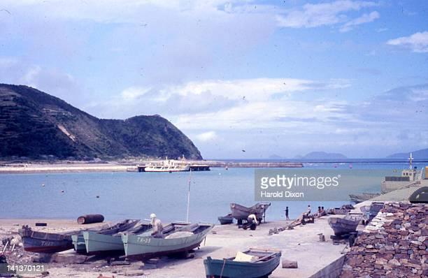 Boats at Naha harbor