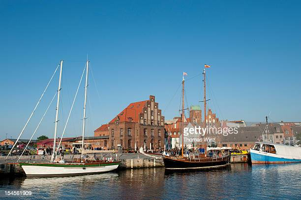 Boats at Wismar narbor