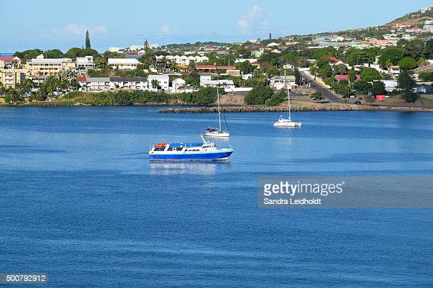 Boats in Basseterre, Saint Kitts