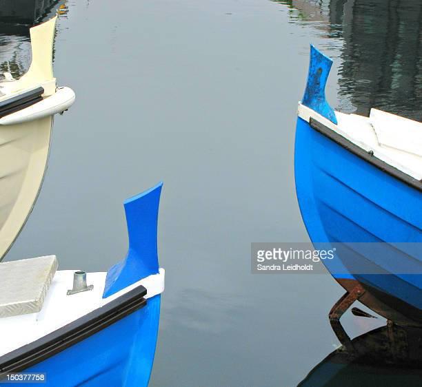 Boats in Harbor in Torshaven