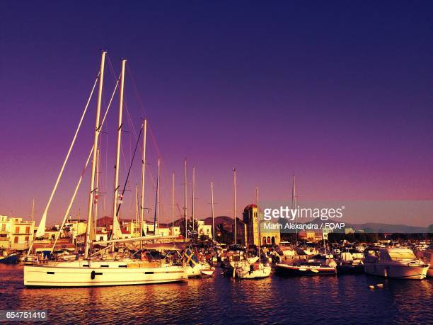 Boats in harbour, Aegina
