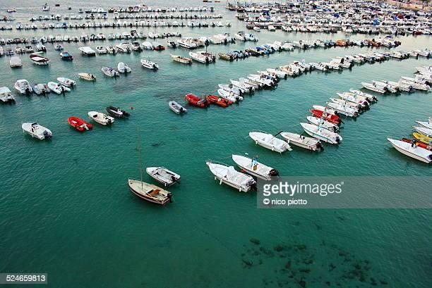 Boats in Otranto Harbour
