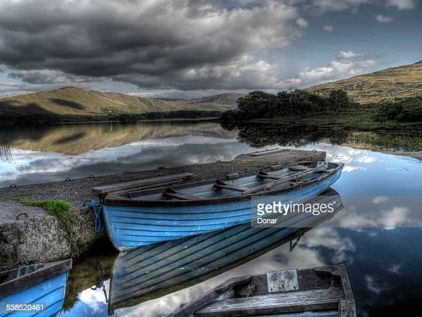 Boats on cloonne lough