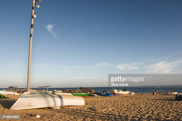 Boats on La Antilla Beach, Huelva