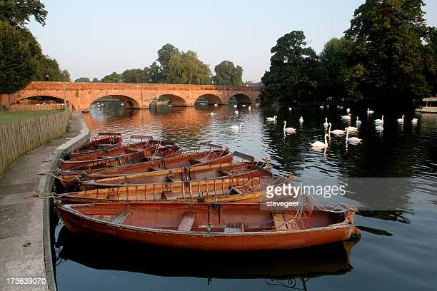Boats on the River Avon