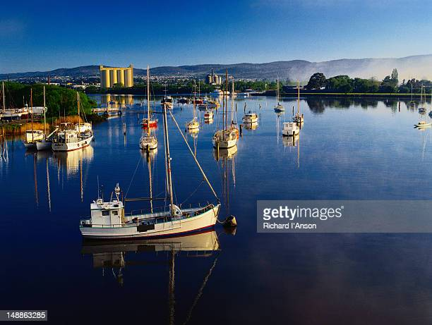 Boats on the Tamar River - Launceston, Tasmania