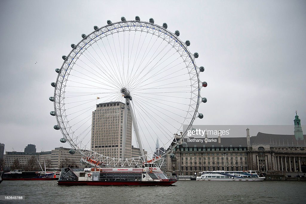 Boats travel on the Thames on February 25, 2013 in London, England. A £10 million boost to double the number of commuters travelling on the Thames over the next seven years was announced by Transport for London today.