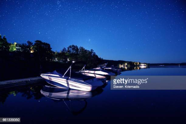Boats Under the Stars