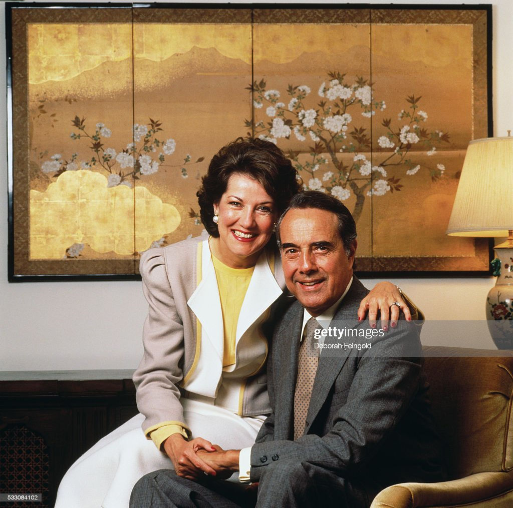 Bob and <a gi-track='captionPersonalityLinkClicked' href=/galleries/search?phrase=Elizabeth+Dole&family=editorial&specificpeople=118601 ng-click='$event.stopPropagation()'>Elizabeth Dole</a>