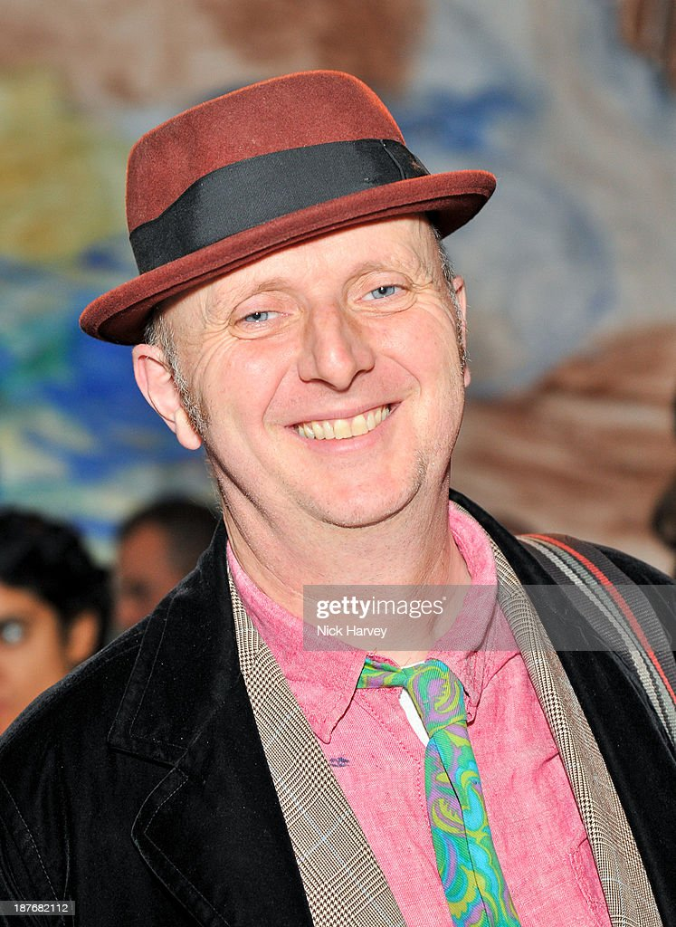 Bob and Roberta Smith attends the book launch of Art Studio America at ICA on November 11, 2013 in London, England.