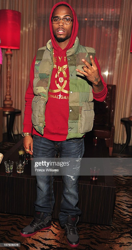 BoB attends the birthday celebration of Keri Hilson at Vanquish on December 6, 2012 in Atlanta, Georgia.