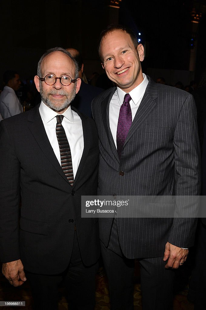 <a gi-track='captionPersonalityLinkClicked' href=/galleries/search?phrase=Bob+Balaban&family=editorial&specificpeople=220226 ng-click='$event.stopPropagation()'>Bob Balaban</a> (L) and guest attend the 22nd Annual Gotham Independent Film Awards at Cipriani Wall Street on November 26, 2012 in New York City.