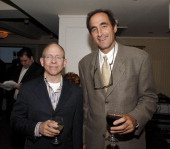 Bob Balaban and Josh Sapan during IFC TV 'Uncut' Premiere Screening and Private Dinner for Their Upcoming 'Film Fanatic Fridays' Lineup at Hotel...