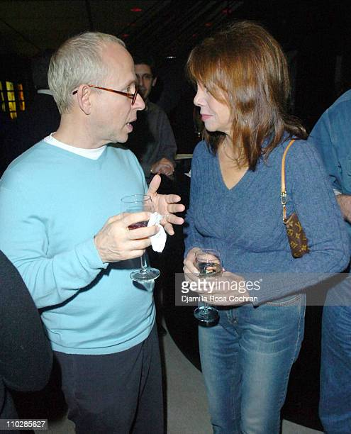 Bob Balaban and Marlo Thomas during 'Why We Fight' New York City Screening January 17 2006 at Sony Screening Room in New York City New York United...