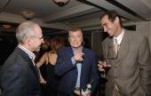 Bob Balaban Regis Philbin and Josh Sapan during IFC TV 'Uncut' Premiere Screening and Private Dinner for Their Upcoming 'Film Fanatic Fridays' Lineup...