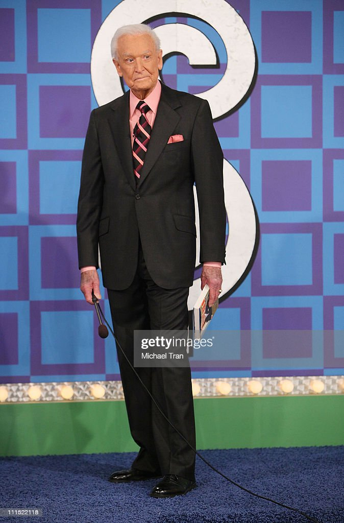 Bob Barker attends the taping for 'The Price Is Right' held at CBS Television Studios on March 25 2009 in Los Angeles California