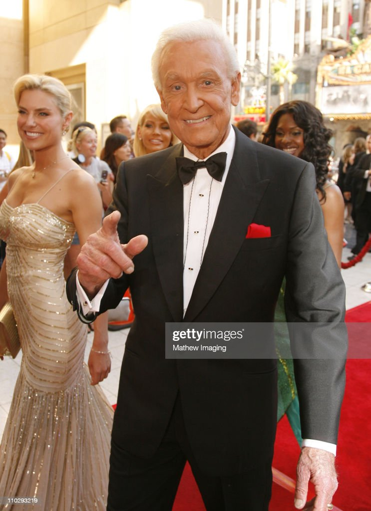<a gi-track='captionPersonalityLinkClicked' href=/galleries/search?phrase=Bob+Barker&family=editorial&specificpeople=210681 ng-click='$event.stopPropagation()'>Bob Barker</a> during 34th Annual Daytime Emmy Awards - Red Carpet at Kodak Theatre in Hollywood, California, United States.