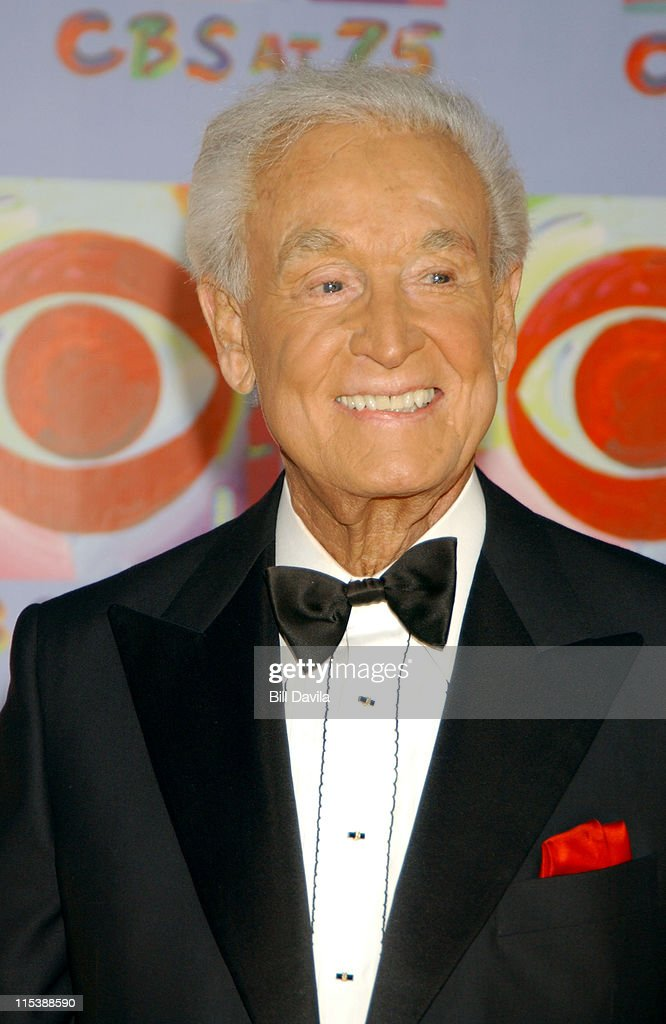 <a gi-track='captionPersonalityLinkClicked' href=/galleries/search?phrase=Bob+Barker&family=editorial&specificpeople=210681 ng-click='$event.stopPropagation()'>Bob Barker</a> during CBS at 75 - Commemorating CBS'S 75th Anniversary - Arrivals at The Hammerstein Theater in New York City, New York, United States.