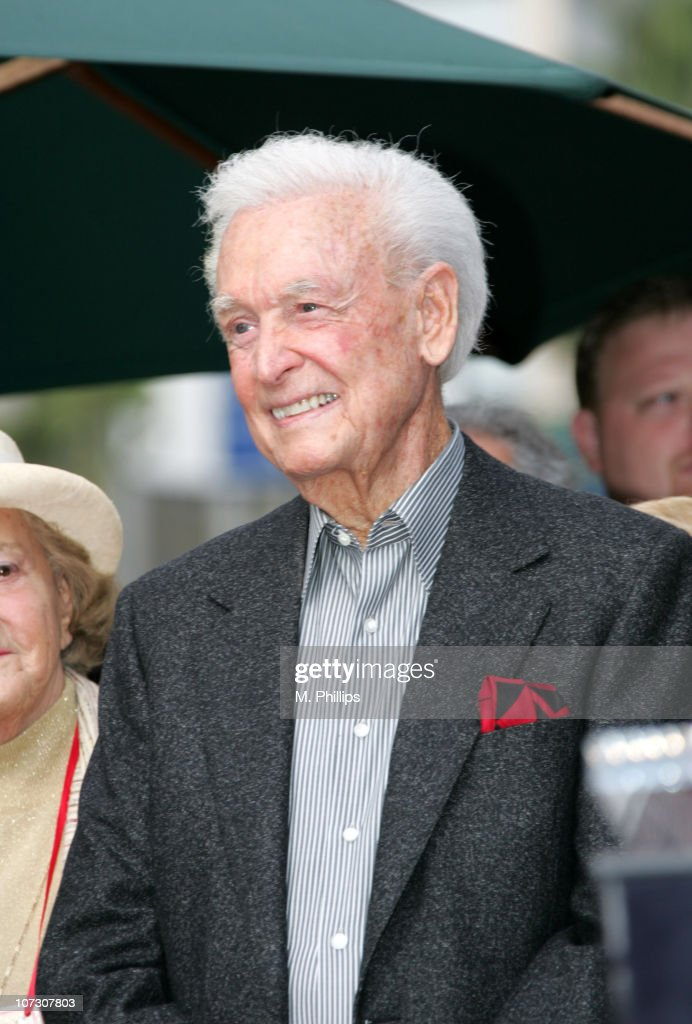 <a gi-track='captionPersonalityLinkClicked' href=/galleries/search?phrase=Bob+Barker&family=editorial&specificpeople=210681 ng-click='$event.stopPropagation()'>Bob Barker</a> during Magicians Milt Larsen and Bill Larsen Jr. Honored with a Star on the Hollywood Walk of Fame at Walk of Fame in Hollywood, California, United States.