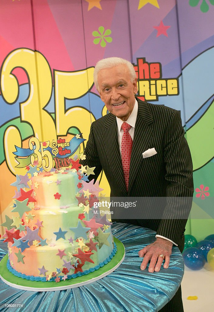 Bob Barker during 'The Price is Right' 35th Anniversary Premiere at CBS Studios in Television City CA United States