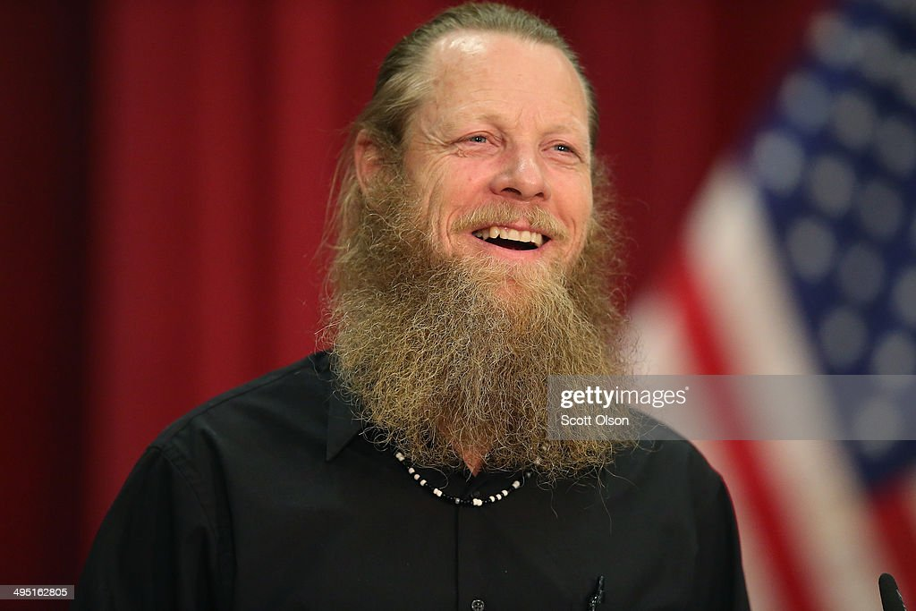 Bob Bergdahl speaks about the release of his son Sgt. Bowe Bergdahl during a press conference at Gouen Field national guard training facility on June 1, 2014 in Boise, Idaho. Sgt. Bergdahl was captured in 2009 while serving with U.S. Armys 501st Parachute Infantry Regiment in Paktika Province, Afghanistan. Bergdahl was considered the only U.S. prisoner of war held in Afghanistan.