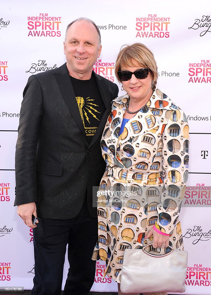 Bob Berne (L) attends the 2013 Film Independent Spirit Awards After Party hosted by Microsoft Windows Phone at The Bungalow at The Fairmont Hotel on February 23, 2013 in Santa Monica, California.