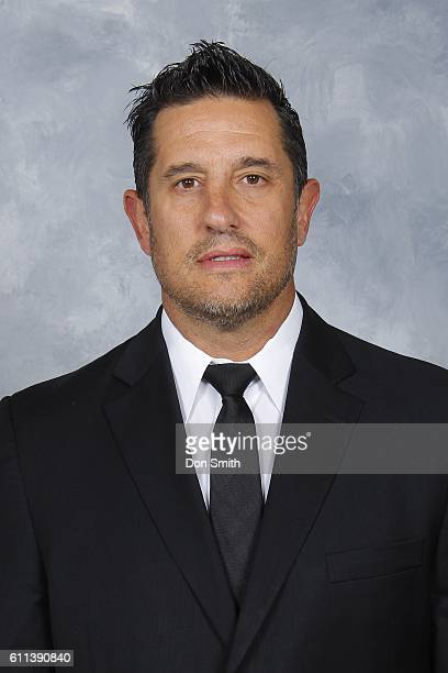 Bob Boughner Assistant Coach of the San Jose Sharks poses for his official headshot for the 201617 season on September 22 2016 at Sharks Ice in San...