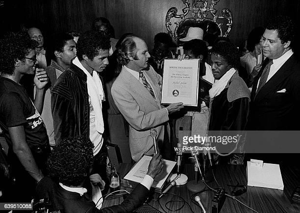 Bob Carr known as Willis the Guard WQXI/94Q along with Atlanta Mayor Maynard Jackson present The Recording Academy/Grammy Atlanta Chapter Special...