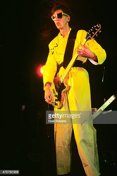 Bob Casale performing with Devo at the Bottom Line in New York City on October 18 1978