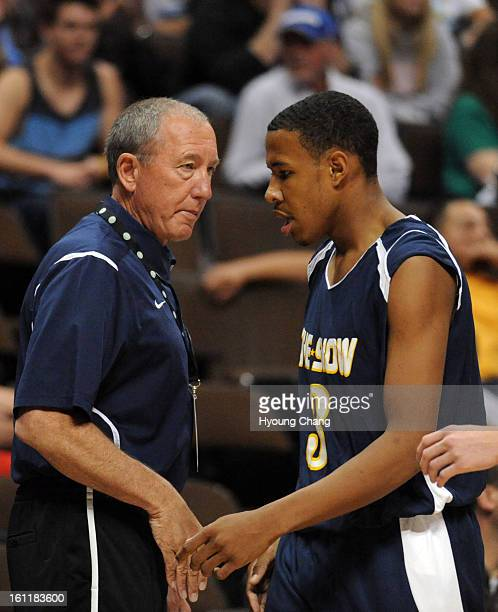 Highlands Ranch Youth Basketball: Colorado High School All Star Game Stock Photos And